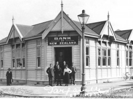 Dargaville premises built in 1913. Photo taken in 1921