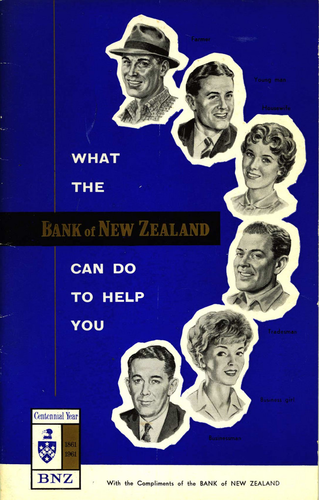 Advert 1961 General Information Booklet Cover