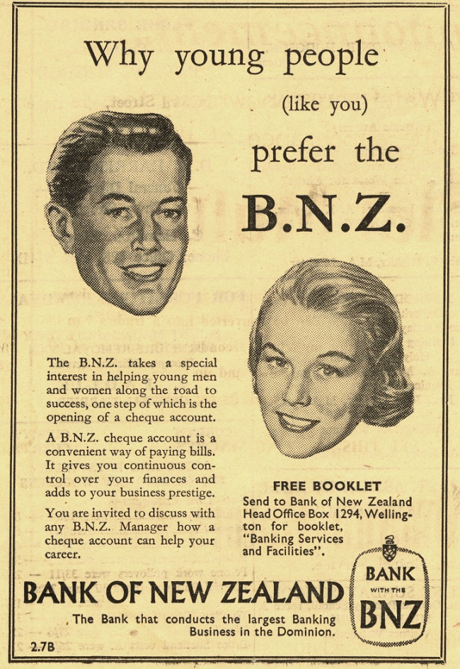 Advert The Mount News 3 Oct 1957 resize