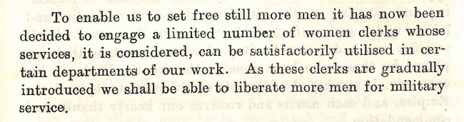 Annual Report 1915 Extract