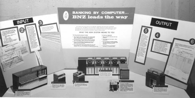 Banking by computer BNZ leads the way