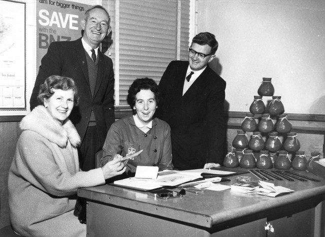 Blenheim First Savings Account being opened CR