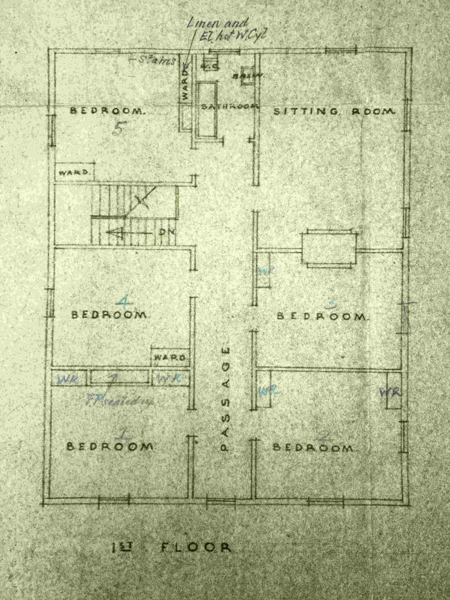 Patea first level plan