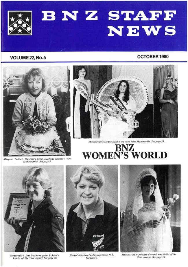 Womens world Staff News Oct 1980 1 of 3 small